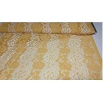 Gipiūras geltonas- baltas elastinis