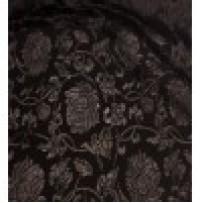 Gipiūras juodas su permatomomis rožėmis