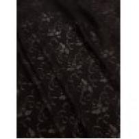 Gipiūras juodas su permatomomis gėlėmis