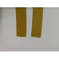 Elastinė kantavimo juosta auksinė 15mm