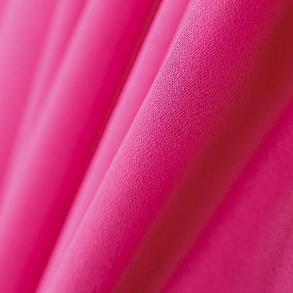 Suknelinis krepinis audinys fuksijos spalvos