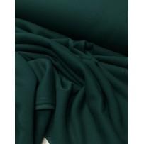 Kilpinis trikotažas su pūkeliu pastelinė smaragdo
