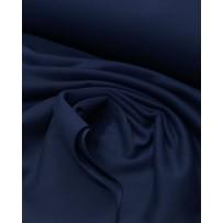 Kilpinis trikotažas su pūkeliu tamsiai mėlynas