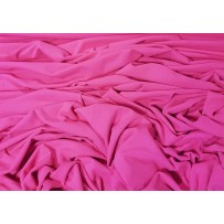 Krepinis trikotažas ryškiai rožinės spalvos