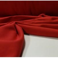 Kilpinis trikotažas su pūkeliu raudonas