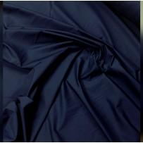 Medvilnė (poplinas) tamsiai mėlyna