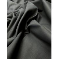 Medvilnė- drobė tamsiai pilka