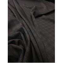 Punto trikotažas juodas su langeliais