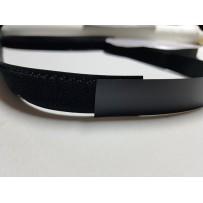 Kontaktinė juosta juoda (Velcro)