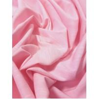 Lino-viskozės audinys rožinis melanžinis su elastanu