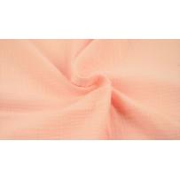 Garinta medvilnė- marlė (double gauze) šviesiai rožinė