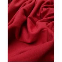 Megztas trikotažas su vilna raudonas