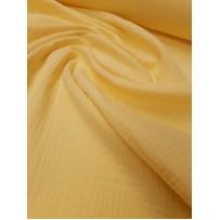 Garinta medvilnė- marlė (double gauze) geltona