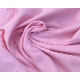 Muslinas- garinta medvilnė baby rožinė