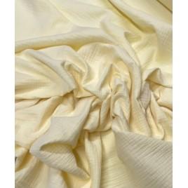 Muslinas- garinta medvilnė pastelinės geltona