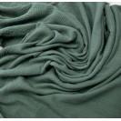 Muslinas- garinta medvilnė vintažinė žalia