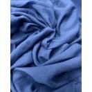 Muslinas- garinta medvilnė vintažinė mėlyna