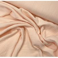 Garinta medvilnė- marlė (double gauze) šviesios lašišos spalvos