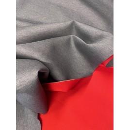 Neoprenas dvipusis pilkas melanžnis/ raudonas
