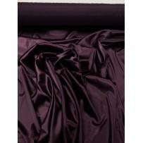 Satinas - dirbtinas šilkas baklažano spalvos