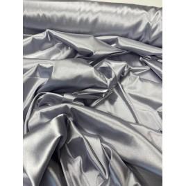 Satinas - dirbtinas šilkas pilkas