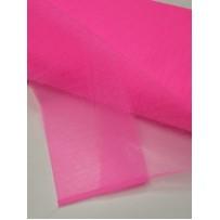 Tiulis  vienspalvis  neoninis rožinis kietas 150cm pločio