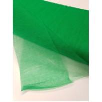Tiulis  vienspalvis žalias kietas 150cm pločio