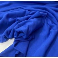 Kilpinis trikotažas trisiūlis mėlynas