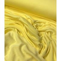 Kilpinis trikotažas trisiūlis geltonas (citrina)