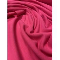 Kilpinis trikotažas trisiūlis ryški rožinė