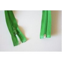 Užtrauktukas atsegamu galu spiralinis žalias 40cm