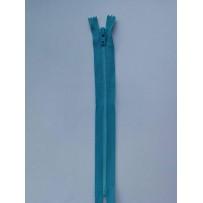 Užtrauktukas paslepiamas spiralinis žydras 17cm