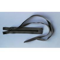 Užtrauktukas  neatsegamas su juostele chaki spalvos metalinis 12cm