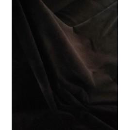 Veliūras tamsiai rudas