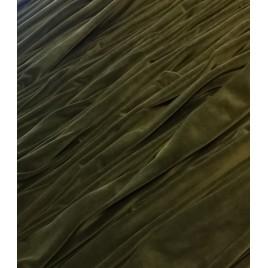 Veliūras samanų spalvos
