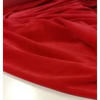 Veliūras raudonos spalvos