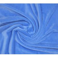Veliūras pastelinis mėlynas